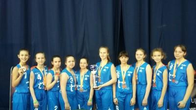 Поздравляем команду девушек по баскетболу ГБОУ СОШ №10