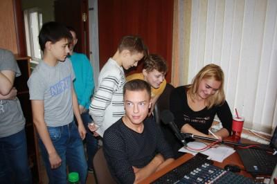 Экскурсия на радио «Европа Плюс»