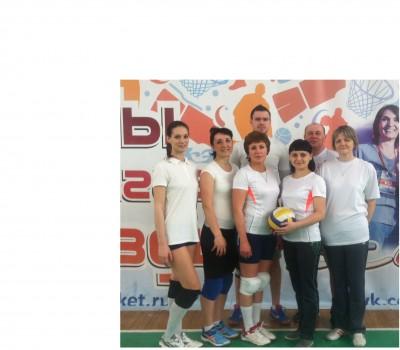 Учителя физкультуры - победители окружных соревнований по волейболу
