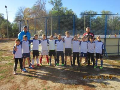 Победители окружного этапа соревнований по мини-футболу