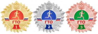 Золотой и серебряный значки ГТО у выпускников нашей школы
